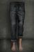 [Deadwool] Jeans + belt (gunmetal grey)