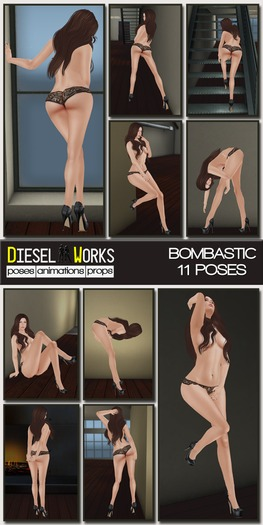 Diesel Works - Bombastic Female Poses