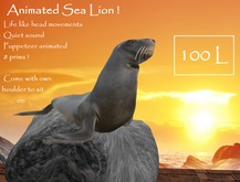 Animated Sea Lion w sounds ( Puppeteer )