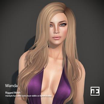 TRUTH HAIR Wanda (Mesh Hair) - DEMO