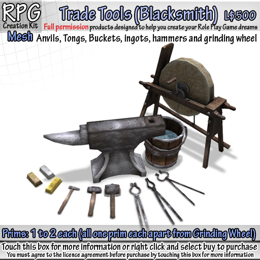 Trade Tools (Blacksmith) (Box)