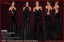 *DNR* Victoria in Classic Black