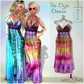 Luas Urban Style - Tie Dye Dress Pink - Mesh