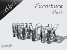 ::db furniture:: Wall deco New York