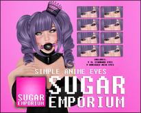Sugar Emporium : Simple Anime Eyes