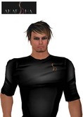 Akaesha's Metlon Tshirt for Men - Midnight