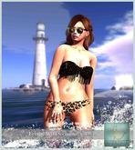 WERTINA - Fringe Swimsuit Wild MESH