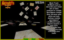 Mesh Trash (BOXED)