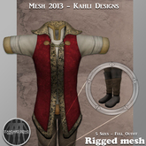 {KD} Kahli Designs - Royal Raiment - Red