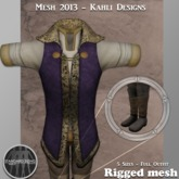 {KD} Kahli Designs - Royal Raiment - Purple