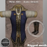 {KD} Kahli Designs - Royal Raiment - Blue