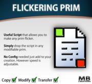 Flickering Prim Script