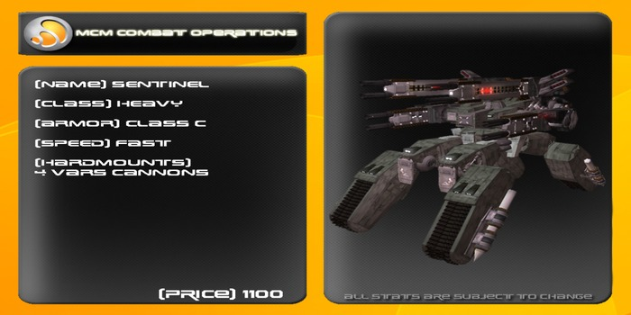 MCM Sentinel (Reborn) *BOXED*