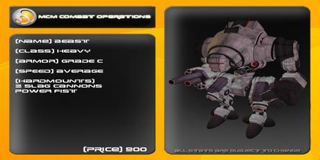 MCM Beast (Reborn) *BOXED*