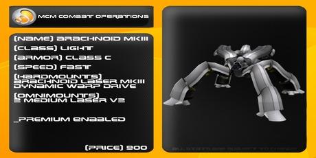 MCM Arachnoid MKIII *BOXED*