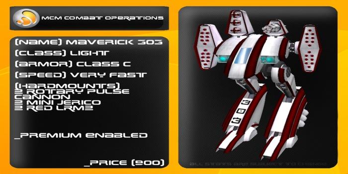 MCM Maverick 303 *BOXED*