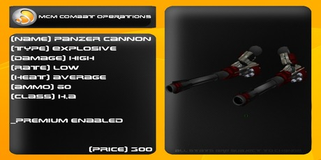 MCM Panzer Cannon *BOXED*