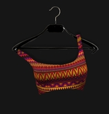 .R:R. The Caprice Crop Top - Tribal