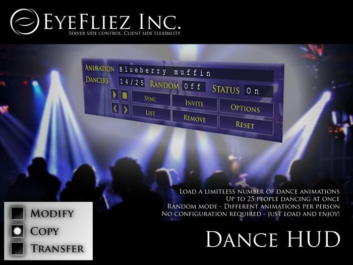 Eyefliez - Dance HUD