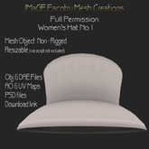 Close Out Sale IFMC Womens Hat 1 Full Perm