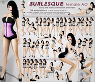 TuTy's - BURLESQUE Sexy and funny female AO - DISCOUNTED