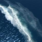 ocean waves 2 layers 3 prims