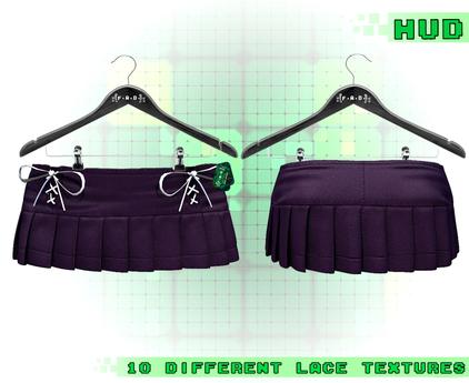 :{F.A.D.}: Poppi Pleated Skirt Purple