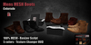 GAS [Mens MESH Boots Colorado - 5 colors with HUD]