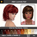A&A Lucinda Hair 11 Colors Value Pack. Cute womens fluffy sexy  flexi hairstyle.