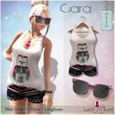 Luas Urban Style - Cara Outfit Owl + Sunglasses - Mesh
