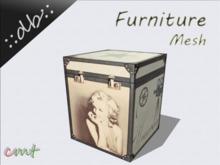 ::db furniture:: Decorative small suitcase Celebrity Marylin Monroe