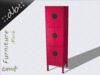 ::db furniture:: Ancient Cabinet rose