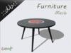 ::db furniture:: Retro wooden Vinyl Tablel