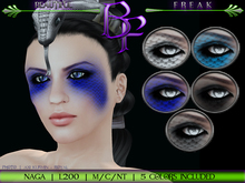 Beautiful Freak: Naga eye makeup -