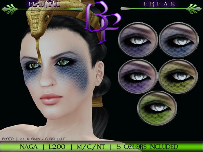 Beautiful Freak: Naga eye makeup - ldg1