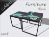 ::db furniture:: Retro Coffee Tables Set Scooter