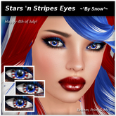 ~*By Snow*~ Stars 'n Bars Eyes