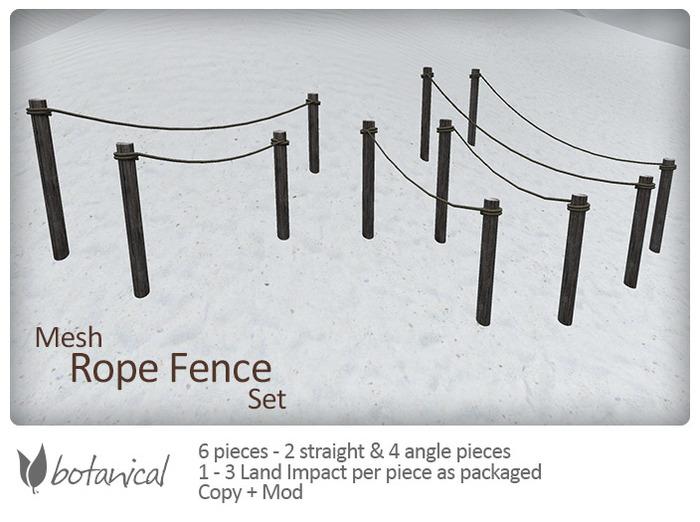 Botanical Rope Fence