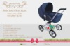 Neverland - Prim Baby Stroller - Striped Blue