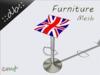 ::db furniture:: British Barstool Chrome Steel