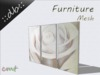 ::db furniture:: Wall Decoration Picture Frame set White Rose