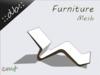 ::db furniture:: Design wooden curvy Lounger