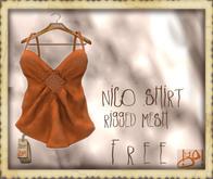 !gO! Nico Shirt -FREE-