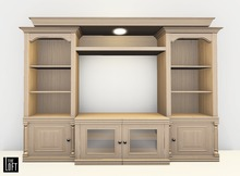 The Loft - TV Stand/Entertainment Center Willow