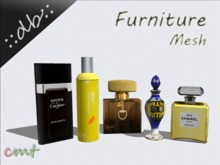 ::db furniture:: Decorative Perfume Flacon Set