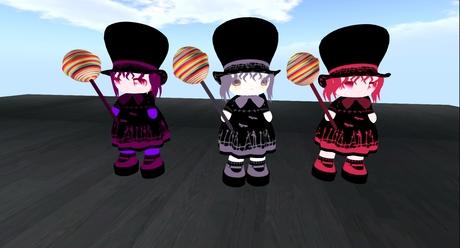 Lollipop kids set of 3 boxed mod trans