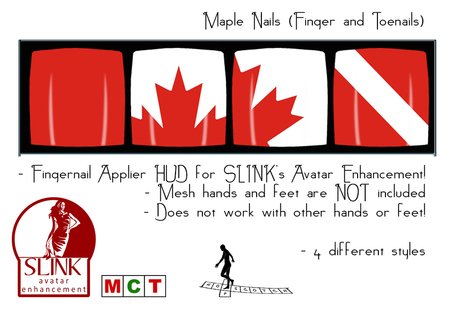 *~*HopScotch*~* Maple Nails (Finger- and Toenails) Dollarbie