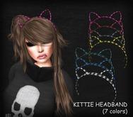 dl:: Kittie Headband (7 colors)