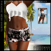 :KR: Paradise Shorts - Black