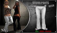 [NV] Bronx Pants -White-